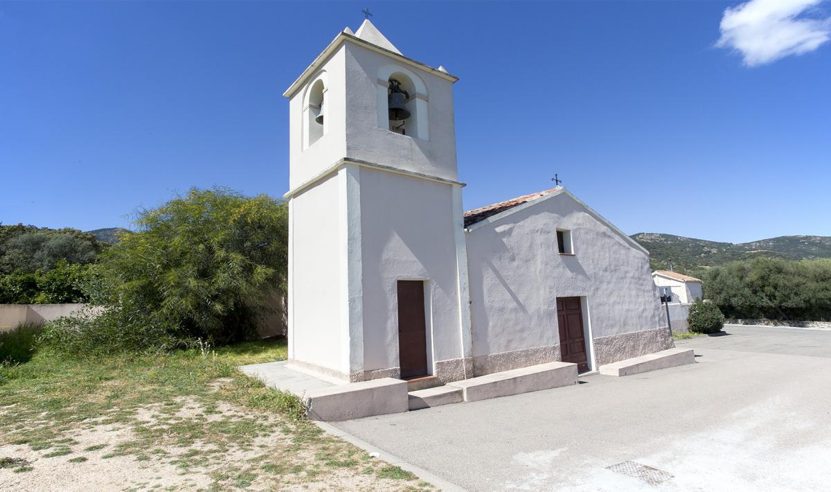 Padru - Chiesa campestre di san Michele