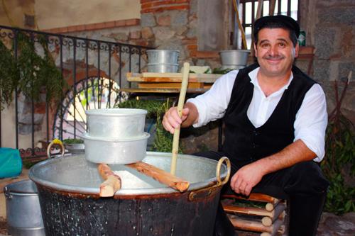 formaggio in gallura